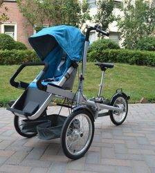 Baby Bicycle Stroller Mother Pushchait Stroller Carbon Steel Kids Folding Child Not Taga Bike Strollers Kids Bicycle Stroller BABY Strollers & Accessories