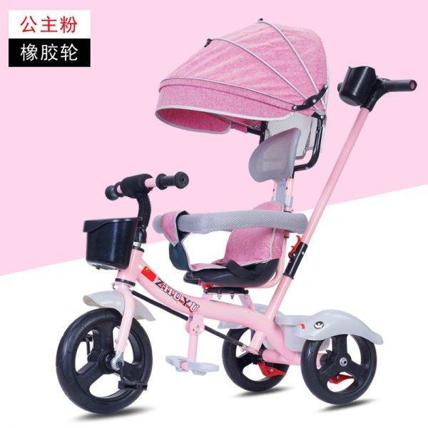 New Brand Child Tricycle High Quality Swivel Seat Child Tricycle Bicycle 1-6 Years Baby Buggy Stroller BMX Baby Car Bike BABY Strollers & Accessories