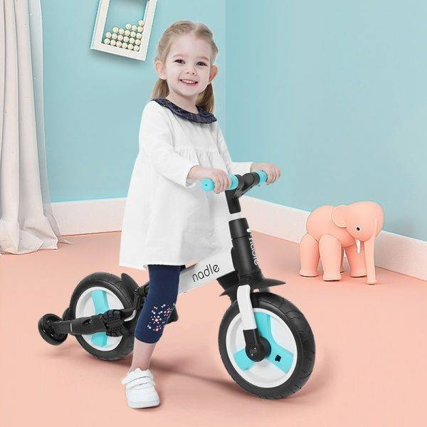 Child Bicycle 5-in-1 Baby Stroller Children Folding Scooter Toddler Balance Bike Adjustable Tricycle Multifunctional Infant Cart BABY Strollers & Accessories