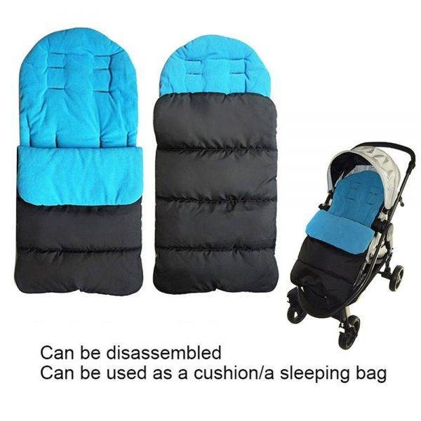 Universal Winter Baby Toddler Footmuff Cosy Toes Apron Liner Pram Stroller Sleeping Bags Windproof Warm Thick Cotton Pad BABY Strollers & Accessories