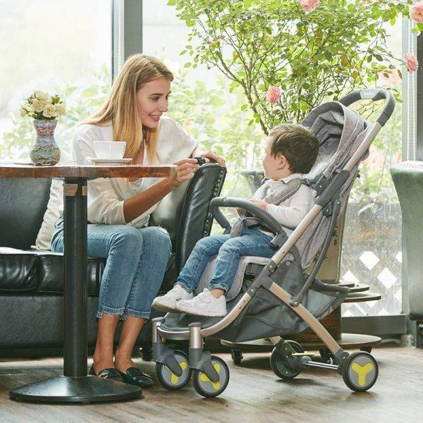 BeBehoo lightweight stroller can sitting & lying folding stroller ultra-light portable Traveling baby stroller BABY Strollers & Accessories
