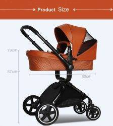 Luxury Baby Prams 3 in 1 Cart , Baby Stroller / Puchair + Independent Bassinet + Safety Car Seat BABY Strollers & Accessories