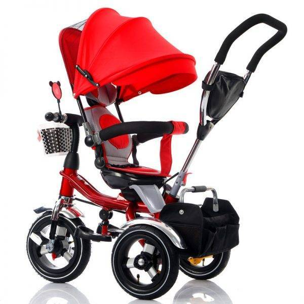 Convertible Handle Baby Tricycle Stroller Riding Bicycle Car Travel System Folding Sit Flat Lying Child Trike Baby Carriage BABY Strollers & Accessories