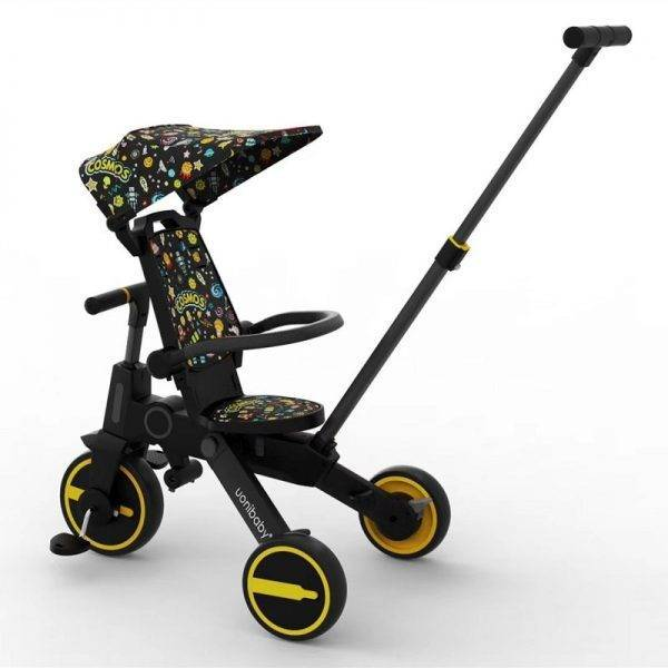 uonibaby multi-functional 3 wheels baby stroller tricycle slid baby artifact trolley walking baby foldable light baby bicycle BABY Strollers & Accessories