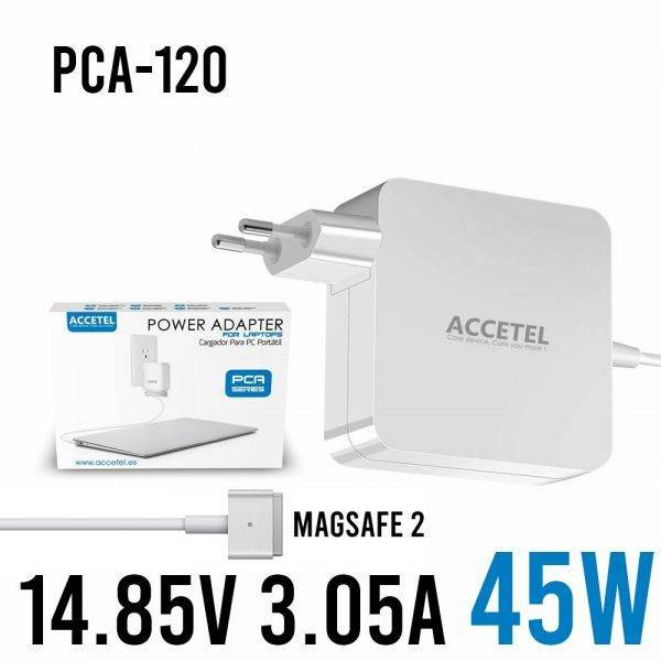 PCA-120 laptop Macbook charger 45W 14.85V 3.05A Magsafe 2/T ELECTRONICS