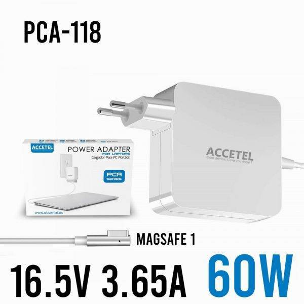 PCA-118 portable Macbook charger 60W 16.5V 3.65A Magsafe 1/L ELECTRONICS