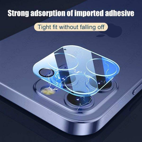 4Pcs Camera Protective Glass For iPhone 11 12 13 Pro Max Mini X XR XS Screen Protector For iPhone 7 6 8 Plus SE 2020 Lens Glass Cell Phones & Accessories