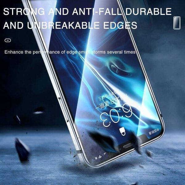 100D Full Cover Protective Glass On For iPhone 11 12 13 Pro XS Max X XR Screen Protector On iPhone 13 XR 6 s 7 8 Plus SE 2 Glass Cell Phones & Accessories